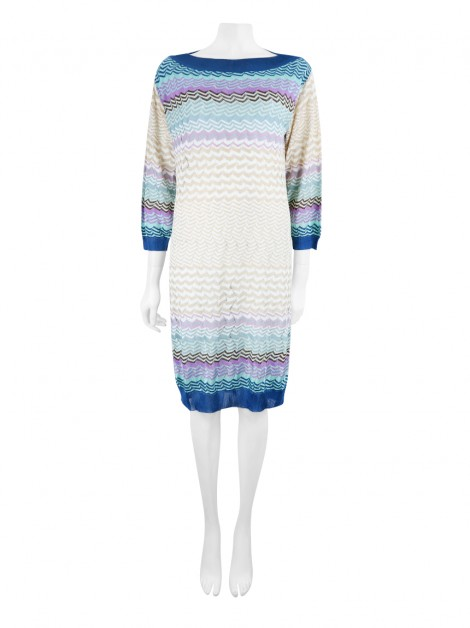 Vestido Missoni Estampa Multicolor