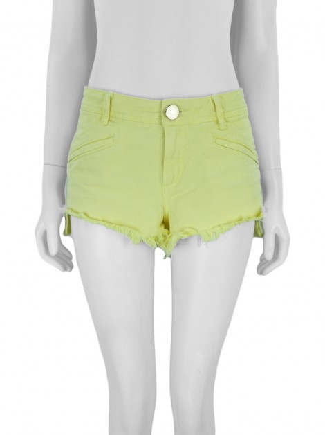 Shorts Animale Jeans Amarelo