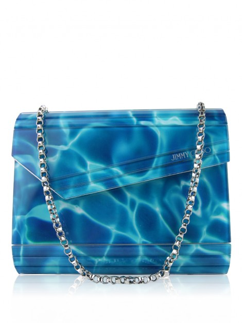 Bolsa Jimmy Choo Candy Pool Blue