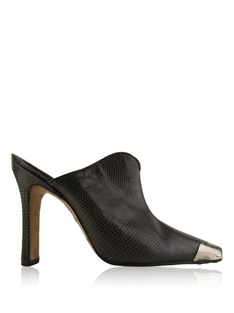 Sapato Givenchy Embossed Vintage
