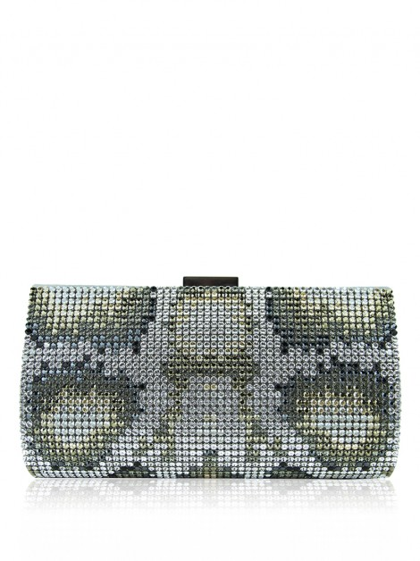 Clutch Swarovski Power Shade Animal Print