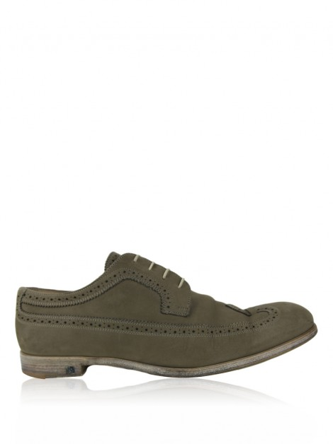 Sapato Louis Vuitton Derby Brogue Verde