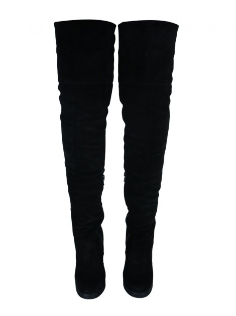 Bota Topshop Over The Knee Preto