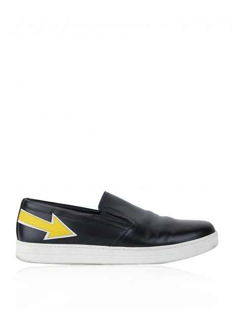 Tênis Prada Slip-On Pop Art Preto