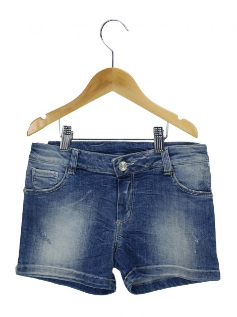 Shorts Achados do EU Illudia Jeans Infantil