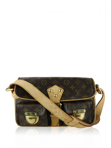 Bolsa Louis Vuitton Hudson PM Monogram
