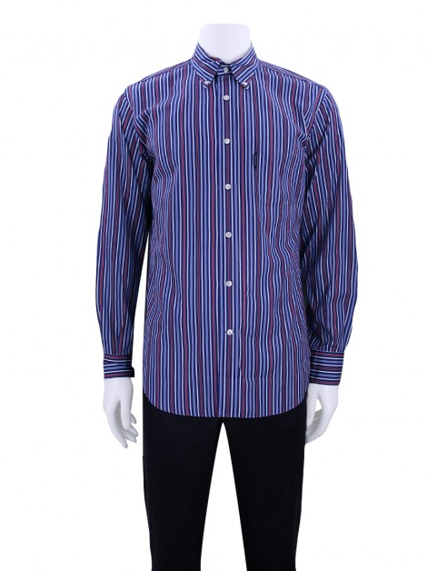 Camisa Façonnable Listras Masculina