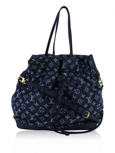 Bolsa Louis Vuitton Noefull Monogram Denim Bleu