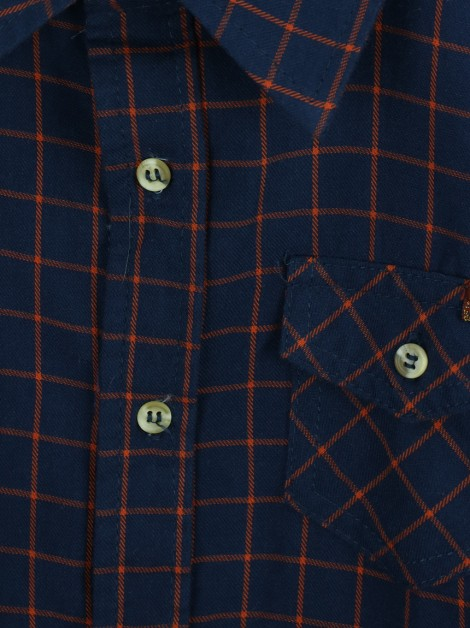 Camisa 7 For All Mankind Xadrez