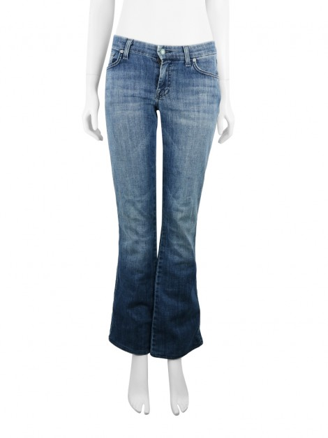 Calça 7 For All Mankind A Pocket Flare