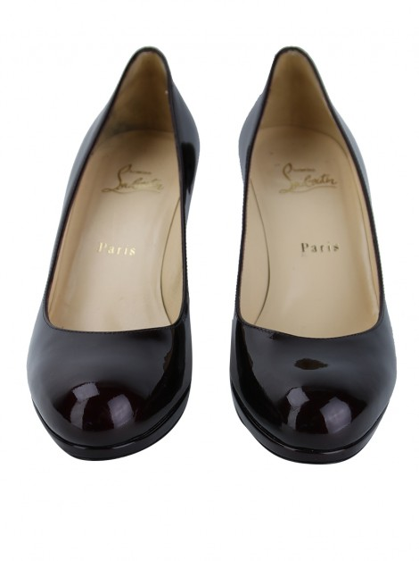 Sapato Christian Louboutin New Simple Pump Vinho