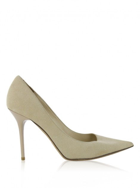Sapato Jimmy Choo Suede Bege