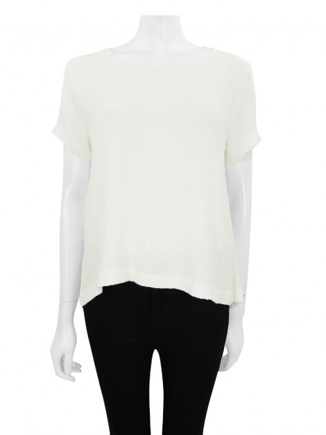 Blusa Missinclof Tweed Off White
