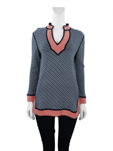 Blusa Tory Burch Knit Estampada