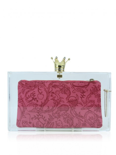 Clutch Charlotte Olympia Pandora Royal Crown 3 Pouchs