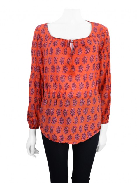 Blusa Tory Burch Evelina Estampada