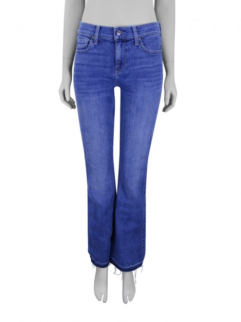 Calça Seven For All Mankind Jeans Ali Azul