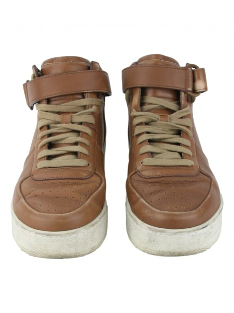 Tênis Celine High-Top Caramelo