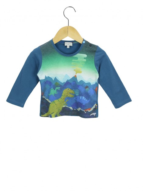 Blusa Paul Smith Baby Estampa Dino