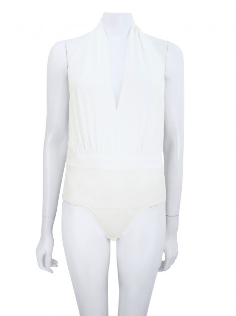Body Carina Duek Frente Única Off White