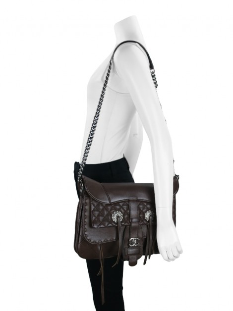 Bolsa Chanel Paris-Dallas Cowboy Fringe