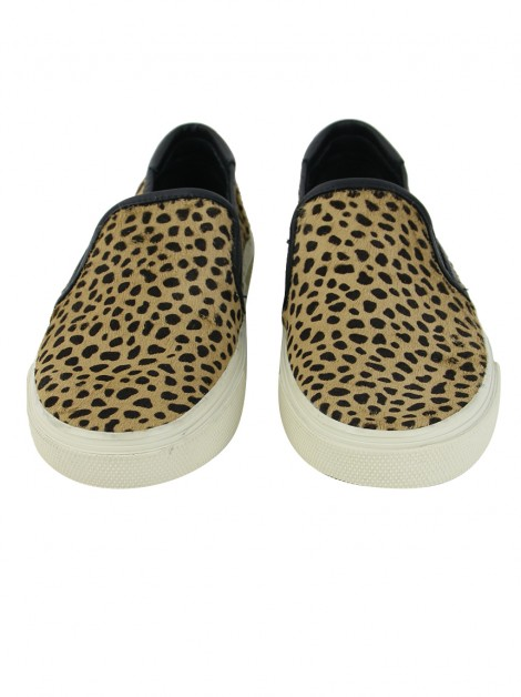 Tênis Yves Saint Laurent Skate Animal Print
