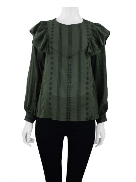 Blusa Mixed Tunica Amour Verde