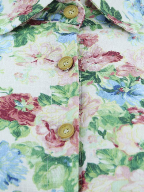 Camisa Mixed Palm Springs Floral