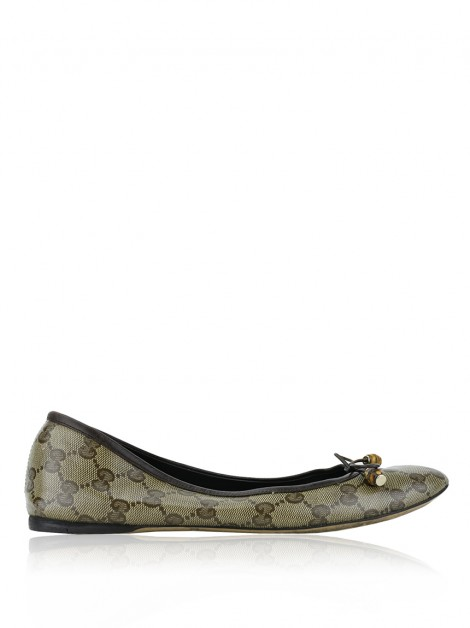 Sapatilha Gucci Crystal Canvas Guccissima