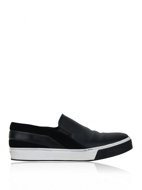 Tênis Louis Vuitton Slip On Epi Preto