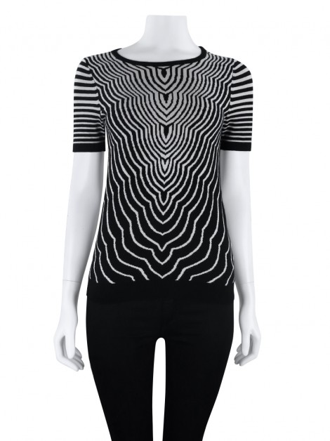 Blusa Marc By Marc Jacobs Tricot Estampado