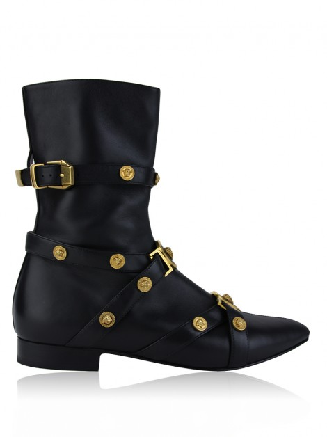 Ankle Boot Versace Tribute Tachas Medusa
