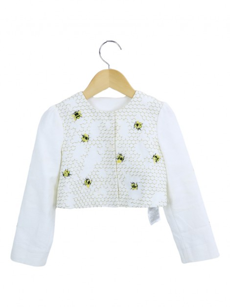Jaqueta Gucci Baby  Beehive Embroidery Infantil