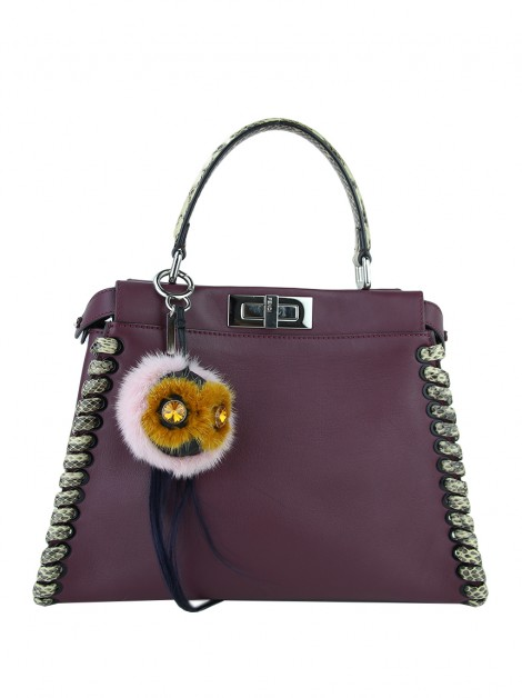 Chaveiro Fendi Marshmallow Bag Bug