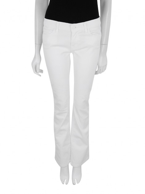 Calça Seven For All Mankind Bootcut Off White