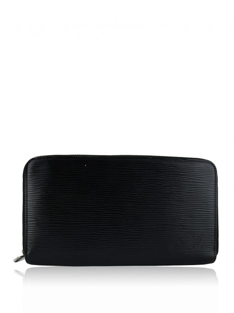 Carteira Louis Vuitton Zippy Organizer Epi Preto
