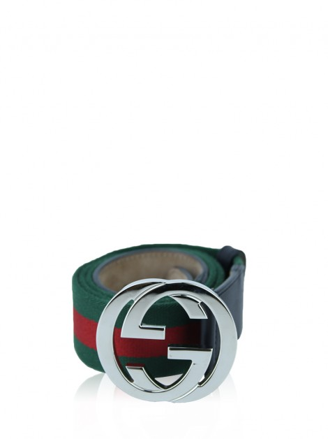 Cinto Gucci Web Interlocking G