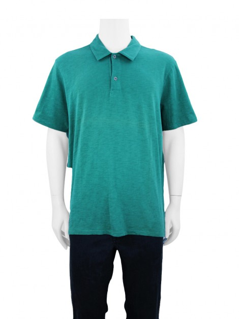 Camisa Seven For All Mankind Polo Verde