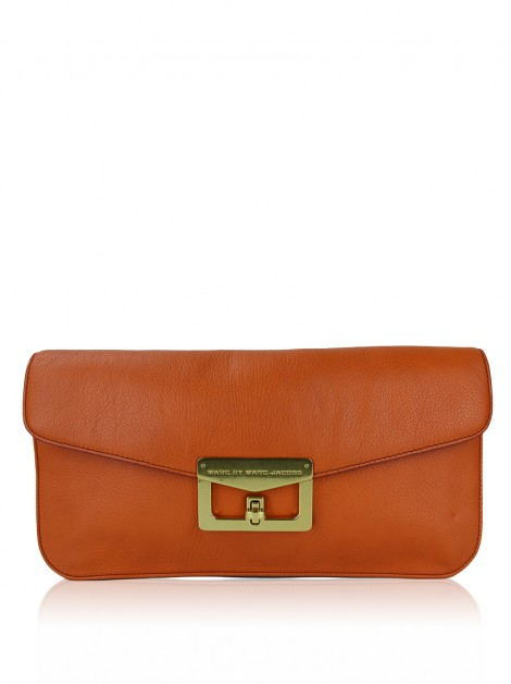 Clutch Marc By Marc Jacobs Bianca Laranja
