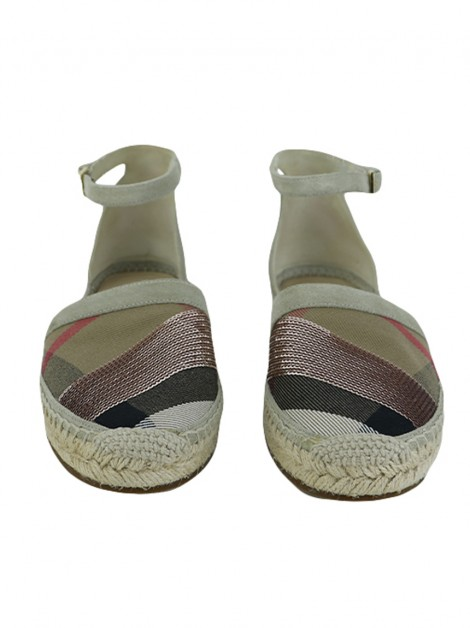 Espadrille Burberry Abbington House Check