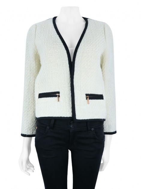 Blazer Club Monaco Knit Bicolor