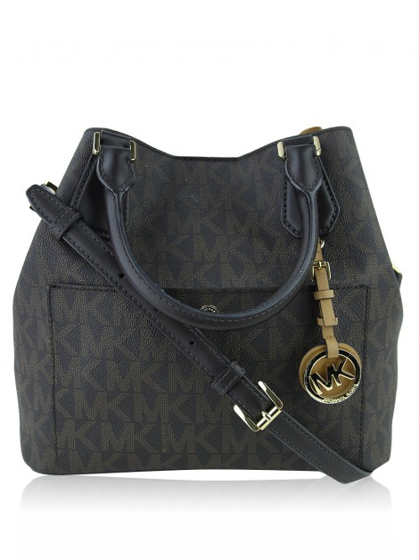 Bolsa Michael Kors Greenwich Grab Monogram