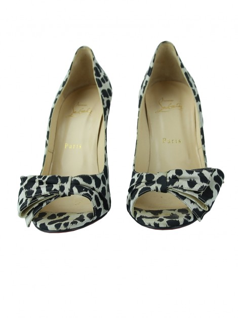 Sapato Christian Louboutin Just Soon Animal Print