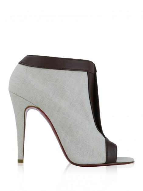 Ankle Boot Christian Louboutin Chaotic 100 Bege