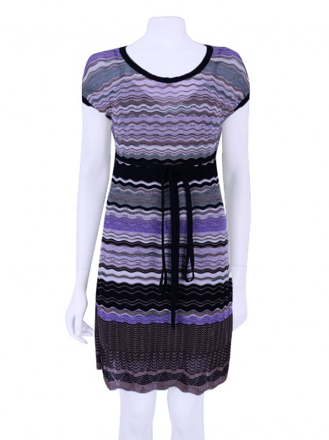 Vestido M Missoni Knit Lurex