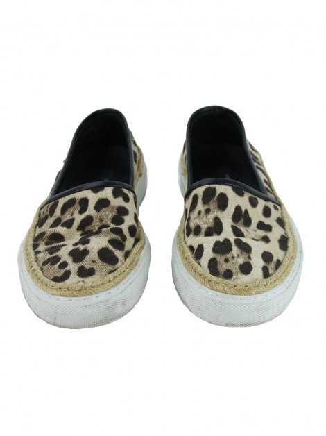 Tênis Dolce & Gabbana Slip On Animal Print