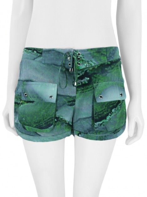 Shorts Daslu Hype Seda Estampado