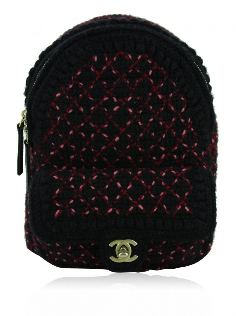 Mochila Chanel Mini Knit