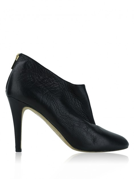 Ankle Boot Jimmy Choo Couro Preto