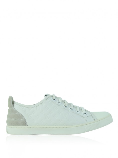 Tênis Louis Vuitton Calf Monogram Punchy Branco